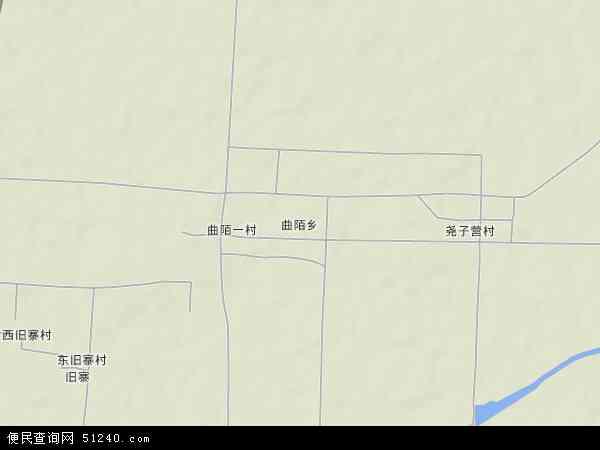 中国河北省邯郸市永年县曲陌乡地图(卫星地图)