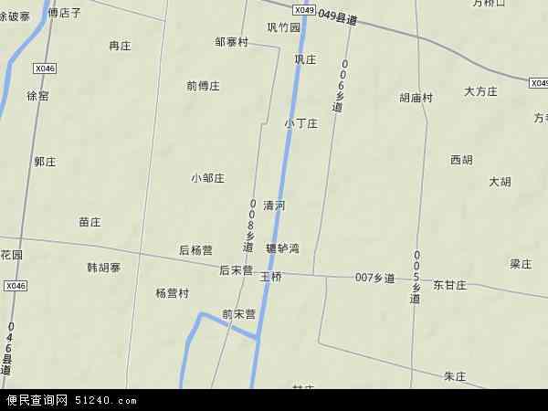 清河地图 - 清河卫星地图 - 清河高清航拍地图 - 清河高清卫星地图 - 清河2016年卫星地图 - 中国安徽省阜阳市颍州区清河地图