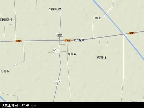 中国河南省开封市杞县苏木乡地图(卫星地图)图片
