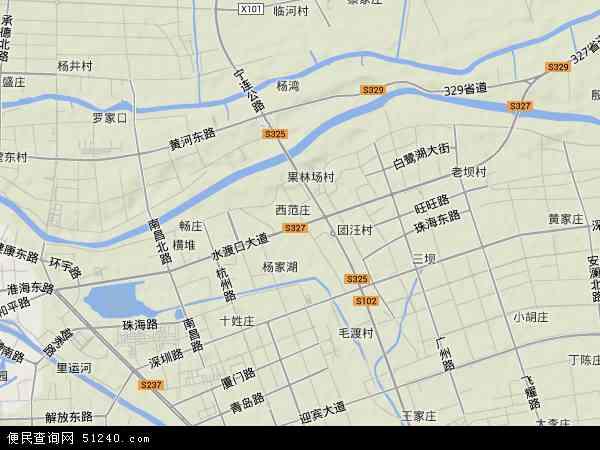 江苏淮安卫星地�_中国江苏省淮安市淮阴区王兴镇地图(卫星地图)