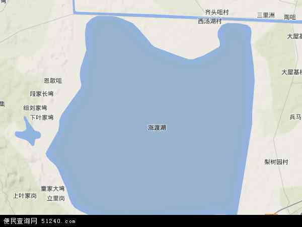湖北省 武汉市 新洲区 涨渡湖  本站收录有:2018涨渡湖卫星地图高清版