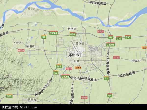 最新郑州市地图,2016郑州市地图高清版