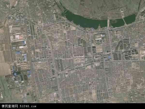 倴城镇高清卫星地图