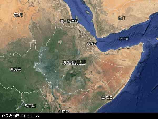 埃塞俄比亚卫星地图 - 埃塞俄比亚高清卫星地图 - 埃塞俄比亚高清航拍地图 - 2016年埃塞俄比亚高清卫星地图