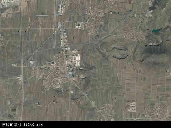 中国山东省烟台市蓬莱市北沟镇地图(卫星地图)