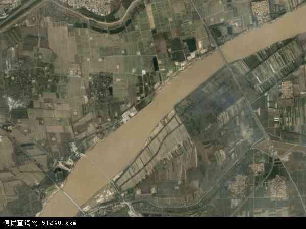 中国山东省滨州市滨城区北镇地图(卫星地图)