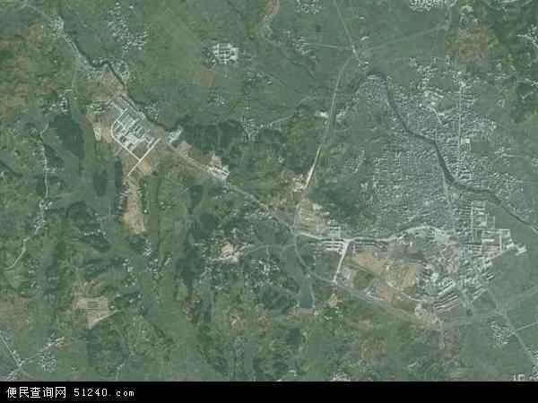 中国安徽省黄山市黟县碧阳镇地图(卫星地图)