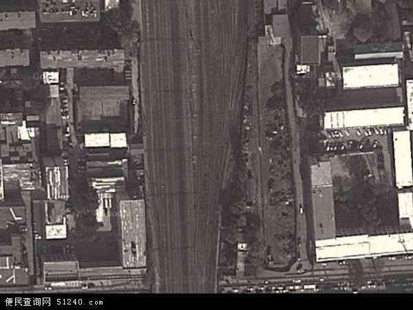 中国山西省太原市杏花岭区坝陵桥地图(卫星地图)