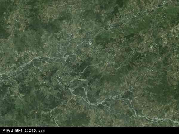 大华乡高清卫星地图