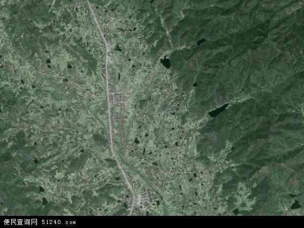 大关镇地图 - 大关镇卫星地图 - 大关镇高清航拍图片
