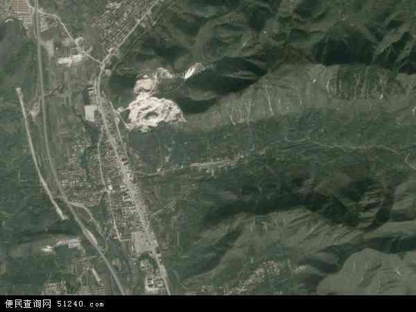 中国河北省唐山市遵化市党峪镇地图(卫星地图)