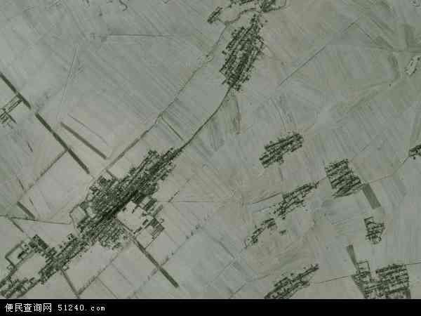 中国吉林省四平市梨树县东河镇地图(卫星地图)