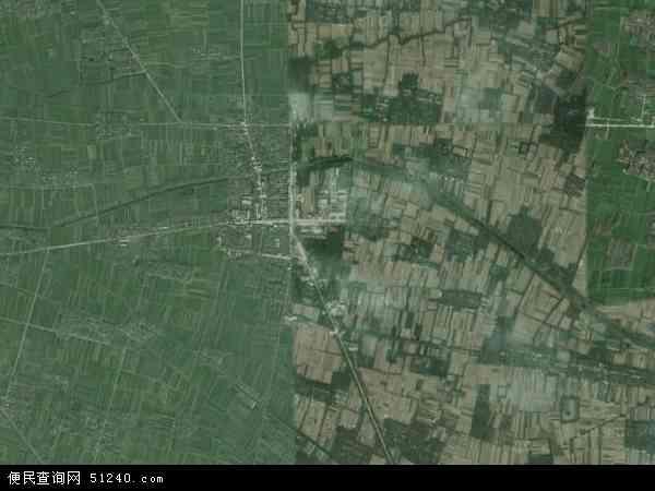 中国河南省信阳市淮滨县防胡镇地图(卫星地图)