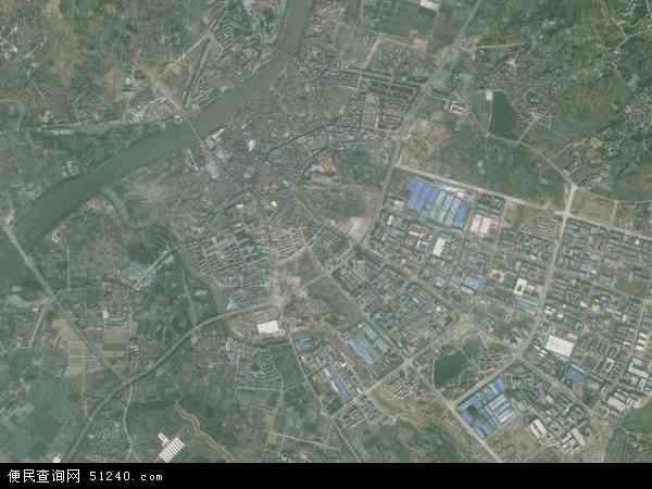 中国浙江省金华市义乌市佛堂镇地图(卫星地图)