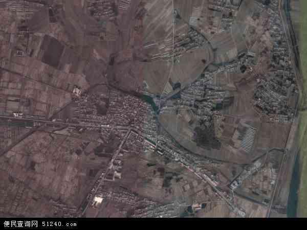 中国辽宁省鞍山市海城市高坨镇地图(卫星地图)