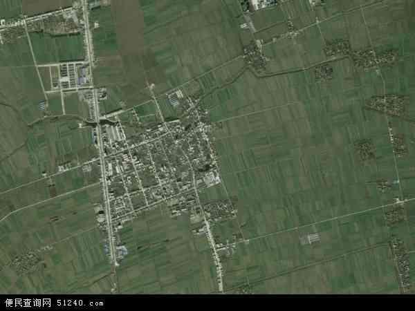 构林镇高清卫星地图