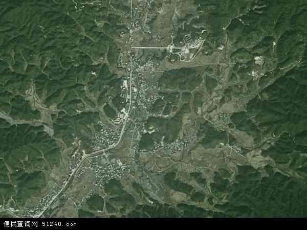 中国福建省龙岩市上杭县古田镇地图(卫星地图)