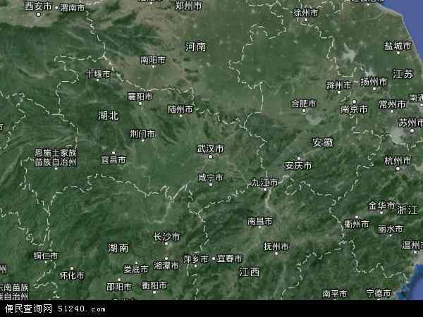 湖北省卫星地图 - 湖北省高清卫星地图 - 湖北省高清航拍地图 - 2018