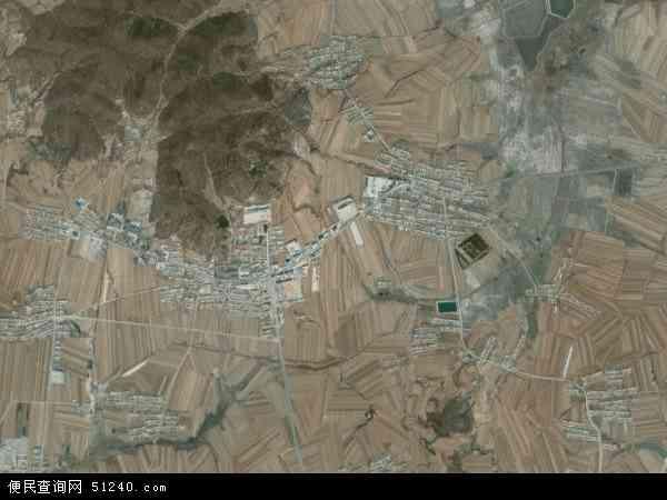中国辽宁省大连市庄河市黑岛镇地图(卫星地图)