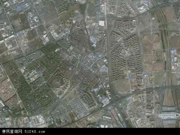 中国上海市闵行区华漕镇地图(卫星地图)