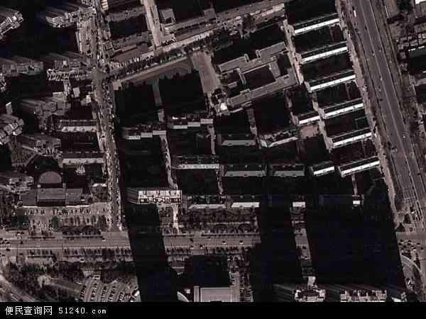 中国河北省秦皇岛市海港区黄河道地图(卫星地图)
