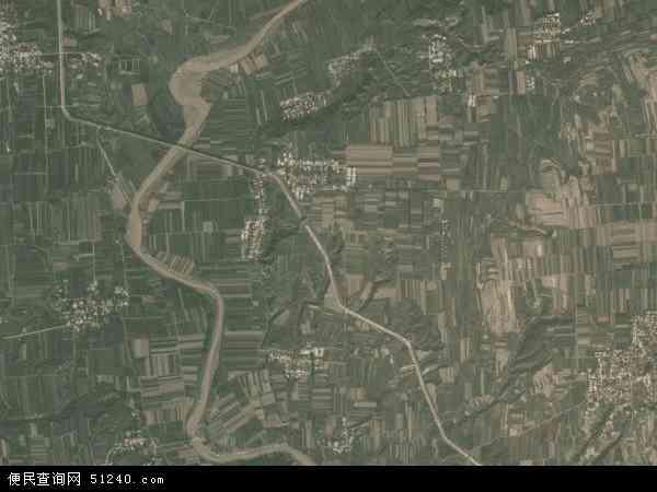 中国陕西省渭南市临渭区解放地图(卫星地图)