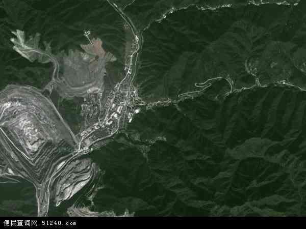 中国陕西省渭南市华县金堆镇地图(卫星地图)