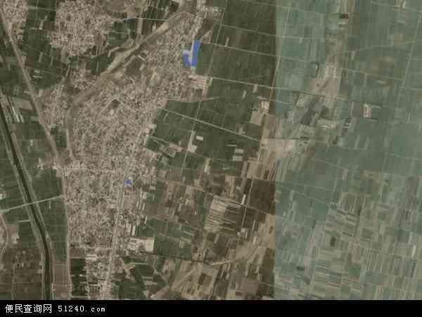 中国河北省邯郸市大名县金滩镇地图(卫星地图)