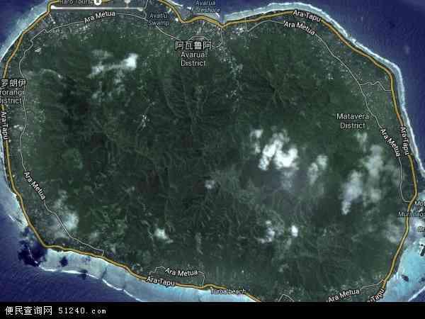 库克群岛卫星地图 - 库克群岛高清卫星地图 - 库克群岛高清航拍地图 - 2016年库克群岛高清卫星地图