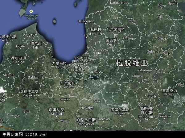 拉脱维亚卫星地图 - 拉脱维亚高清卫星地图 - 拉脱维亚高清航拍地图 - 2016年拉脱维亚高清卫星地图