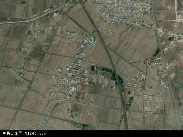 陆家乡地图 - 陆家乡卫星地图