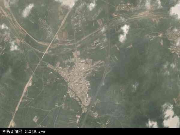 中国辽宁省大连市瓦房店市李官镇地图(卫星地图)