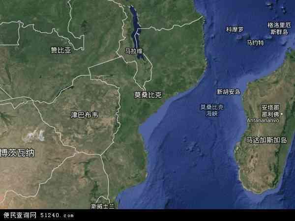 莫桑比克卫星地图 - 莫桑比克高清卫星地图 - 莫桑比克高清航拍地图 - 2016年莫桑比克高清卫星地图