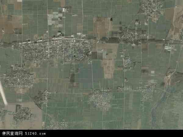 中国河南省平顶山市鲁山县马楼乡地图(卫星地图)