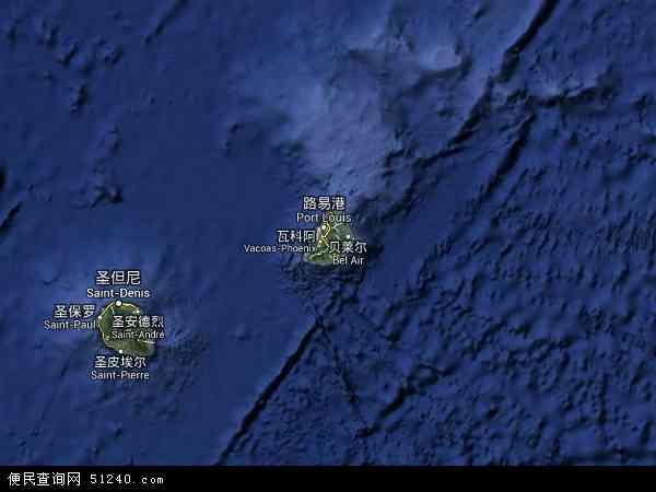 毛里求斯卫星地图 - 毛里求斯高清卫星地图 - 毛里求斯高清航拍地图 - 2016年毛里求斯高清卫星地图