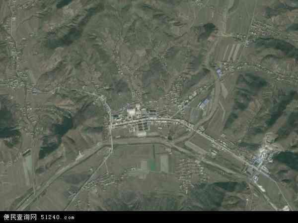 中国辽宁省鞍山市海城市马风镇地图(卫星地图)