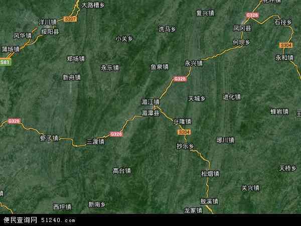湄潭县卫星地图 - 湄潭县高清卫星地图 - 湄潭县高清航拍地图 - 2018