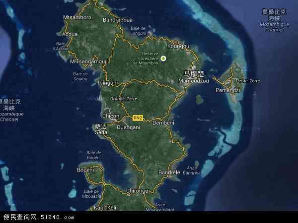 马约特卫星地图 - 马约特高清卫星地图 - 马约特高清航拍地图 - 2016年马约特高清卫星地图