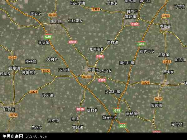 河北邢台市卫星地图_南宫市地图 - 南宫市卫星地图 - 南宫市高清航拍地图