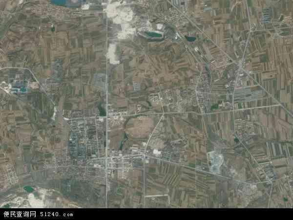 中国山东省青岛市莱西市南墅镇地图(卫星地图)