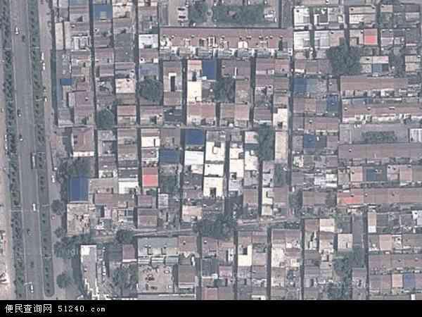 中国河南省商丘市梁园区前进地图(卫星地图)图片