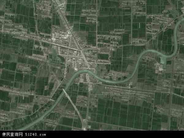 中国江苏省宿迁市沭阳县钱集镇地图(卫星地图)