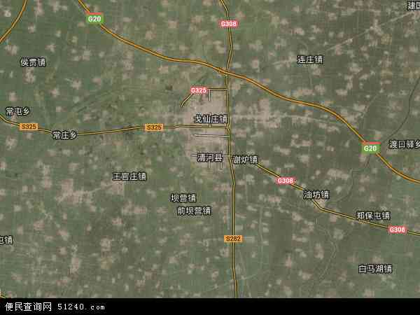 河北邢台市卫星地图_清河县地图 - 清河县卫星地图 - 清河县高清航拍地图