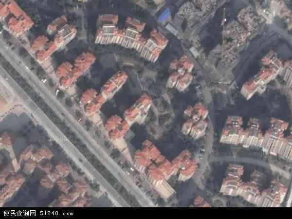 中国广东省中山市坦洲镇七村社区地图(卫星地图)