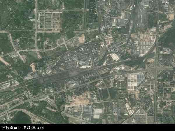 沙井高清航拍地图 - 2015年沙井高清卫星地图