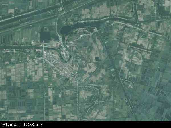 沙口镇高清卫星地图