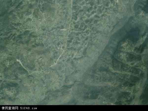 中国重庆市綦江区石壕镇地图(卫星地图)