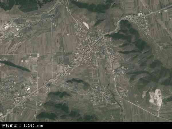 中国河北省唐山市遵化市石门镇地图(卫星地图)