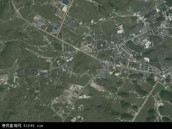 中国贵州省安顺市西秀区宋旗镇地图(卫星地图)