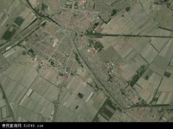 中国河北省廊坊市文安县苏桥镇地图(卫星地图)